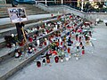 Memorial candles of Levente Riz.jpg