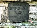 Memorial for Janko Premrl Vojko near the Vojko Lodge on the Nanos Plateau.jpg