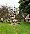 Memorial fountain, Queen's Gardens, Cheadle.jpg