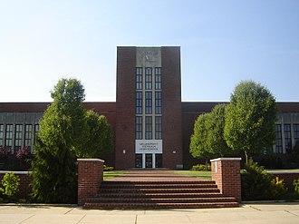 The Bellmores, New York - Image: Mepham High School