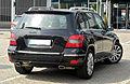 Mercedes-Benz GLK 250 CDI BlueEFFICIENCY 4MATIC (X 204) – Heckansicht, 12. Juni 2011, Ratingen.jpg