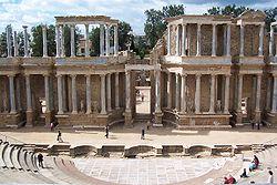 Roman theater in Mérida