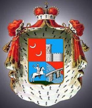 Meshchersky - The coat of arms of the Meshchersky family.
