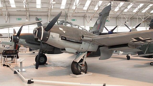 Me 410 W.Nr.420430, RAF Museum Cosford (2009)