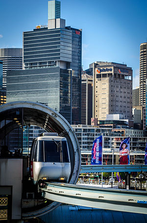 Sydney Monorail - Harbourside Station