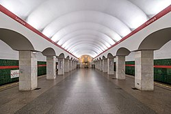 Metro SPB Line1 Lesnaya Platform.jpg