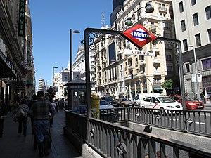 bd15be77f91e Estación de Gran Vía - Wikipedia
