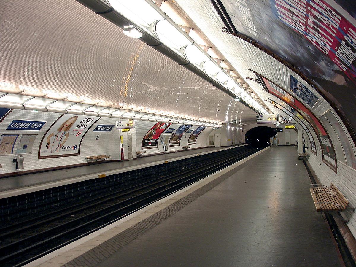 Chemin Vert (Paris Métro) - Wikipedia