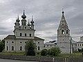 Michael Archangel Monastery from the remparts Yuryev Polsky.jpg