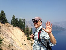 Michael Gordon at Crater Lake.JPG