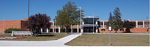 Midland High School (Midland, Michigan) - Image: Midland HS