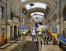 Milan central railway station wikipedia - Milano porta garibaldi station ...