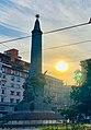 Milano - Monumento alle Cinque Giornate - alba.jpg