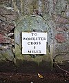 Milestone on the Worcester Road - geograph.org.uk - 1778037.jpg