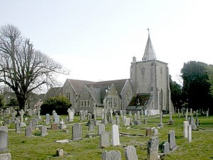 Milford on Sea - All Saints' Church