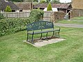 Millennium celebration bench, Williamscot - geograph.org.uk - 435007.jpg