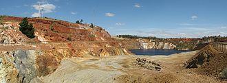 Iberian Pyrite Belt - Sao Domingos Mine