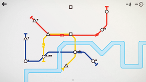 Mini Metro (video game) - Image: Mini Metro screenshot 0
