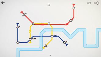 Mini Metro (video game) - Image: Mini Metro screenshot 0