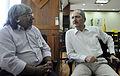 Ministro Aldo e o cacique Xavante, Arnaldo Tsererowe. (22351647632).jpg