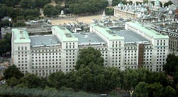 Ministry of Defence, Whitehall, London; viewed...