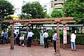 Ministry of Railroad pillars - Omori, Tokyo - DSC05723.jpg