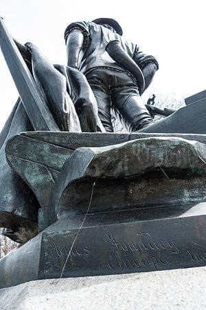 Ames Manufacturing Company - The Ames foundry mark can be seen on Daniel Chester French's Minuteman statue