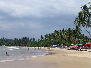 Mirissa Place in Southern Province, Sri Lanka