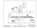 Mission San Luis Rey de Francia, Mission Road, Oceanside, San Diego County, CA HABS CAL,37-OCSI.V,1- (sheet 6 of 25).png