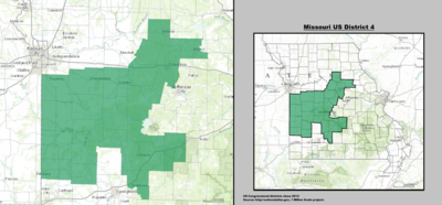 Missouri's 4th congressional district - since January 3, 2013.