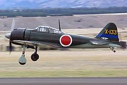 Mitsubishi A6M3 Zero, Commemorative Air Force JP7003364.jpg
