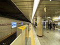 Mitsukoshimae Station platform 201912.jpg