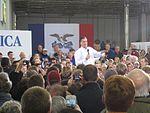 Mitt Romney caucus eve in Clive 012 (6625511045).jpg