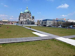 Schloßplatz (Berlin) square in Berlin-Mitte, Germany
