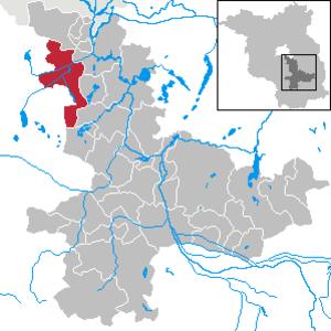 Mittenwalde - Image: Mittenwalde in LDS