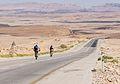 Mitzpe Ramon Yom Kippur bikers on Rt40 at Mitzpe Ramon (15453220311).jpg