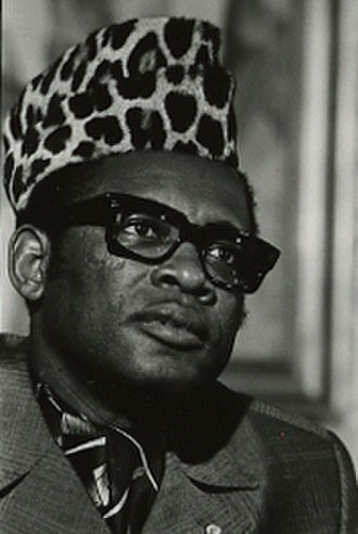 Constitution of Zaire - Mobutu Sese Seko, pictured in 1976