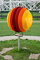 Model of the sun, Jodrell Bank Observatory.jpg