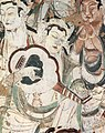 Mogao caves, cave 220, Tang Dynasty 618-907.jpg