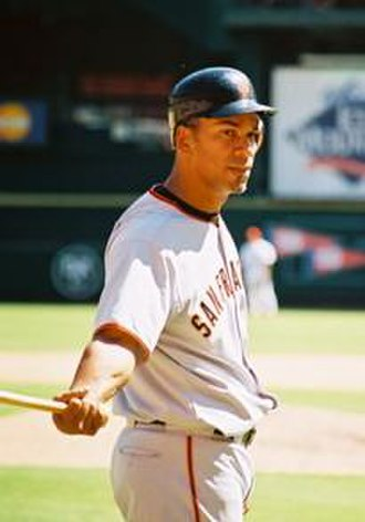 Moisés Alou - Alou with the Giants in 2005