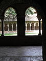 Moissac (82) Abbaye Saint-Pierre Cloître 11.JPG