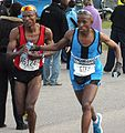 Mokwalakwala and Kelehe, 2012 Comrades.jpg