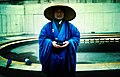 Monk Outside The Met - Flickr - moriza.jpg