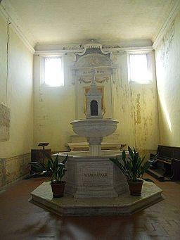 Montalcino, Concattedrale del Santissimo Salvatore - Battistero