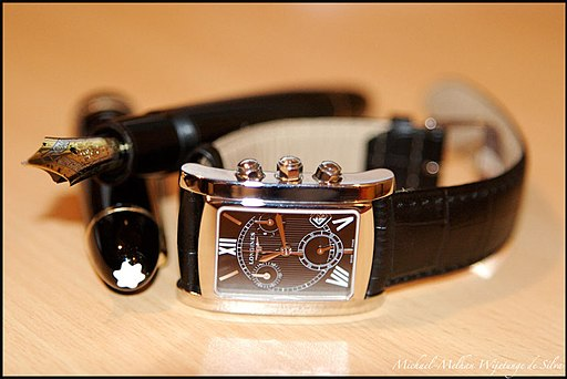 Montblanc pen and watch