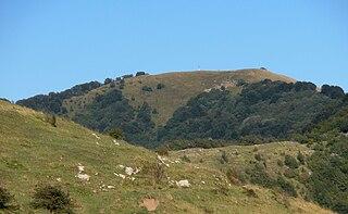 Monte Buio mountain in Italy
