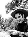 Montgomery Clift during filming Red River.jpg