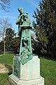 Monument à Emmanuel Frémiet par Henri Greber au Jardin des plantes à Paris le 12 mars 2017 - 1.jpg