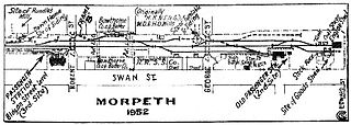 East Maitland–Morpeth railway line