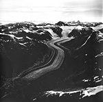 Morse Glacier, mountain glacier terminus, August 27, 1968 (GLACIERS 5665).jpg